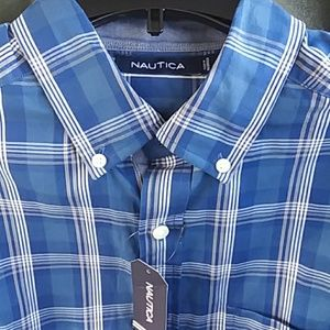 Nautica Shirt- Men's Long Sleeve size M -New w/Tag